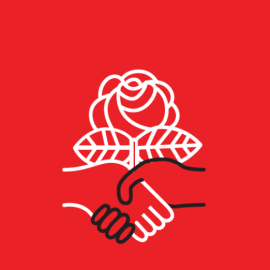 Site icon for Democratic Socialists of America (DSA)